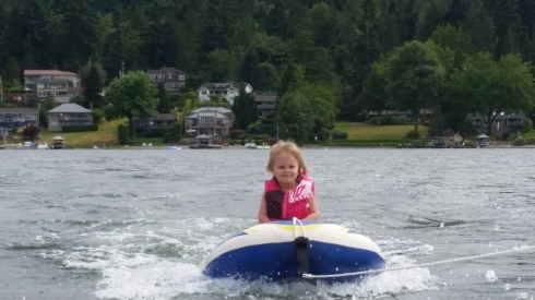 First Waterski