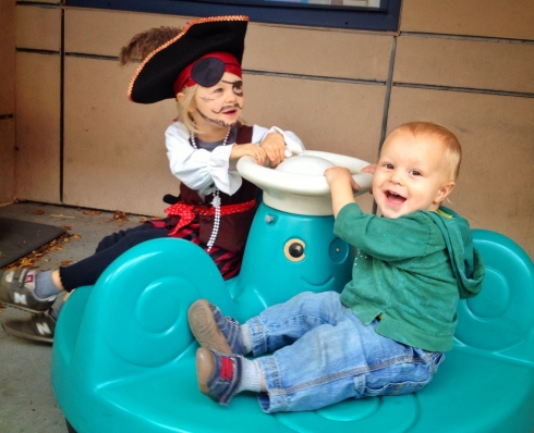 Sail the seven seas at preschool fair.
