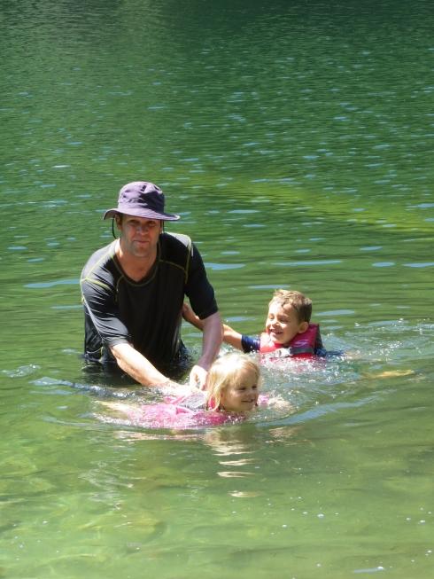 Family Swim at Hidden Lake