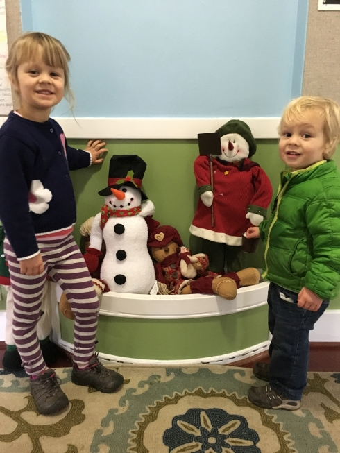 Winter at preschool