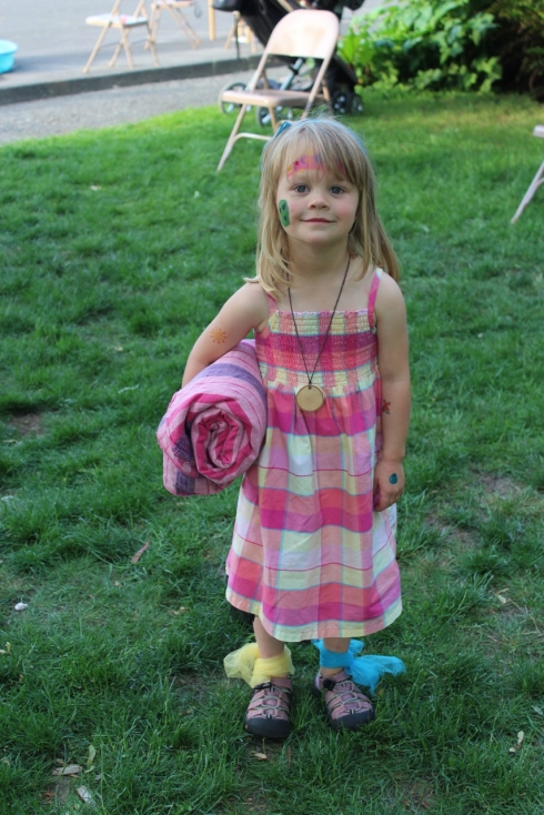 At Preschool Carnival