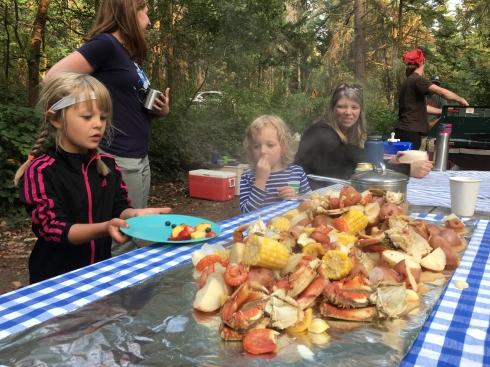 Camano Group Camp Feast