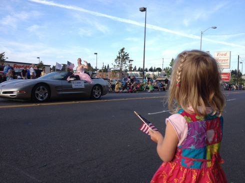 Greenwood Seafair Parade Princess