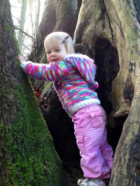 I climb and climb