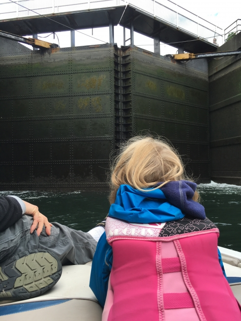 Going through the Locks