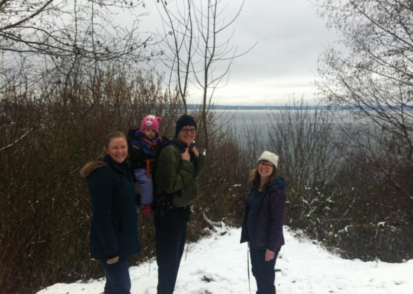 Snowy Carkeek Walk